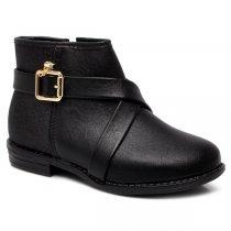 Imagem - Bota Infantil Ankle Boot Molekinha 2167221 Glitter - 017054501091163