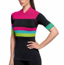 Imagem - Camiseta Ciclismo Lupo Sport 71640-001 Sem Costura Preta - 0000001