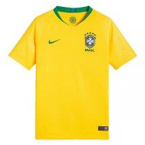 Imagem - Camiseta Seleção Brasileira Infantil Nike Rep. Torcedor 1 893970-749 Amarelo