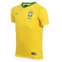 Imagem - Camiseta Seleção Brasileira Infantil Nike Torcedor 1 Aa2886-749 Amarelo
