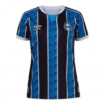 Imagem - Camiseta Grêmio Feminina Umbro Atleta OF.1 2020 S/N° Tricolor - 123008300321209