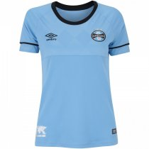 Imagem - Camiseta Grêmio Feminina Umbro Of. Charrua18 3G160515 Azul/Preto/Branco - 123008300171209
