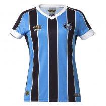Imagem - Camiseta Grêmio Feminina Umbro OF.1 2019 3G160782 Tricolor - 123008300231058