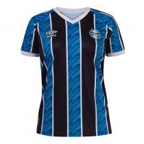 Imagem - Camiseta Grêmio Feminina Umbro OF.1 2020 S/N° Tricolor - 123008500031209