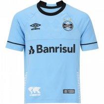 Imagem - Camiseta Grêmio Infantil Umbro Of. Charrua18 3G160516 Azul/Preto/Branco - 123057400161209