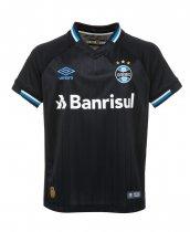 Imagem - Camiseta Grêmio Infantil Umbro OF.3 2018 Preto/Branco/Azul - 123057400171890