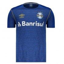 Imagem - Camiseta Grêmio Masculina Aquecimento 2019 Umbro 3G160722 Mescla Azul/Ouro - 123008400632555