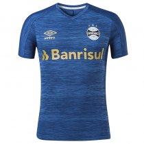 Imagem - Camiseta Grêmio Masculina Aquecimento 2020 Umbro 3G161043 Azul/Ouro - 123008400752791