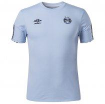Imagem - Camiseta Grêmio Masculina Concentração 2020 Umbro Celeste/Branco - 123008400811102