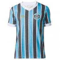 Imagem - Camiseta Grêmio Masculina Retro 1983 Umbro 3G00019 Azul Celeste/Preto/Branco - 123008400041058