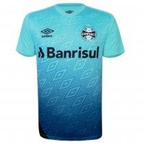 Imagem - Camiseta Grêmio Masculina Treino 2020 Umbro 3G161042 Azul Celeste/Preto - 123008400741071