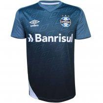 Imagem - Camiseta Grêmio Masculina Treino 2020 Umbro 3G161042 Azul/Branco/Preto - 123008400742104