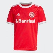 Imagem - Camiseta Internacional Infantil Masculina Adidas OF.1 FU1086 Vermelho