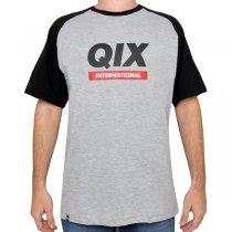 Imagem - Camiseta Qix 91101503 Mescla/Preto - 050056804301133