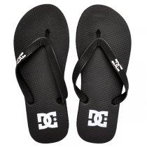 Imagem - Chinelo Dc Shoes Spray Preto/Branco - 005056800091081