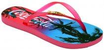 Imagem - Chinelo Feminino Coca-Cola 020.Cc2255 Pink/Pink - 5070500021166