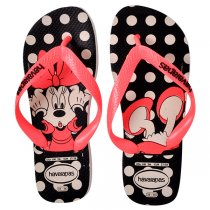 Chinelo Havaianas Disney Stylish Branco/Coral