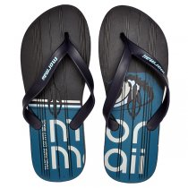 Chinelo Grendene Mormaii Tropical 10591 Azul/Branco