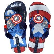 Imagem - Chinelo Infantil Grendene Avengers 26160 Azul/Azul/Vermelho - 005054200421156