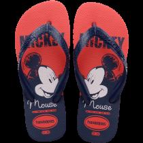Imagem - Chinelo Infantil Havaianas Mickey Top Disney Vermelho/Marinho