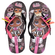 Imagem - Chinelo Infantil Lol Surprise Ipanema 26350 Preto/Rosa - 005054501011503