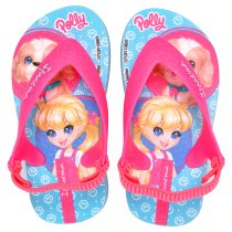 Imagem - Chinelo Infantil Polly E Max Steel Ipanema 26349 Azul/Rosa Neon - 005054501052733