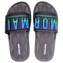 Imagem - Chinelo Slide Infantil Mormaii Quiver Masculino 11739 Azul//Verde