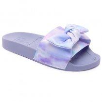 Imagem - Chinelo Slide Moleca Tie Dye Feminino 5414104 Multi Lilás