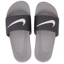 Imagem - Chinelo Slide Nike Kawa 832646-001 Cinza/Branco - 005005200721843