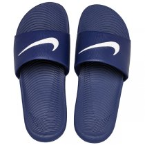 Imagem - Chinelo Slide Nike Kawa 832646-400 Azul Marinho/Branco - 005005200581147