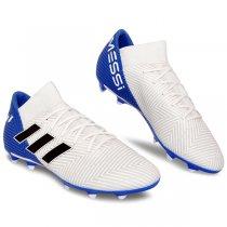 Imagem - Chuteira Campo Adidas Nemeziz Messi 18.3 DB2111 Branco/Preto - 021008400521086