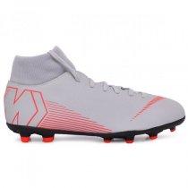 Imagem - Chuteira Campo Infantil Nike Superfly 6 Club AH7339-060 Cinza/Vermelho - 021057400220962