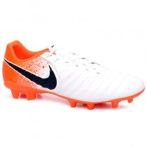 Imagem - Chuteira Campo Nike Legend 7 Academy AH7242-118 Branco/Laranja - 021008400651581