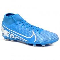 Imagem - Chuteira Campo Nike Superfly 7 Club AT7949-414 Azul/Branco - 021008400741102