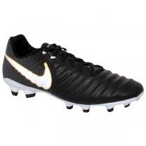 Imagem - Chuteira Campo Nike Tiempo Ligera Iv 897744-002 Preto/Branco - 021008400361081