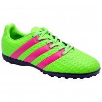 Imagem - Chuteira Society Infantil Masculina Adidas Ace 16.4 Af5079 Green