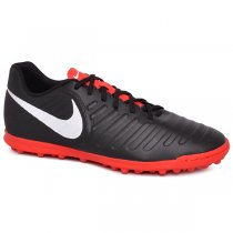 Imagem - Chuteira Society Nike Legend 7 Club AH7248-006 Preto Vermelho -  022047400381090 b2dba28a939cf