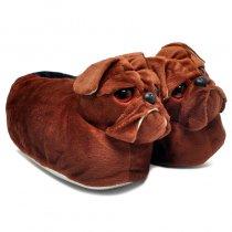 Imagem - Pantufa Infantil Cachorro Boxer Du Rei Café - 004071200240050