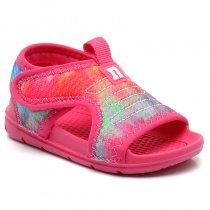 Imagem - Sandália Infantil Papete Novopé Feminina Tie Dye 904N514 Pink