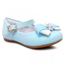 Imagem - Sapatilha Frozen Infantil Klin 152129 Glitter Azul - 349054501440069