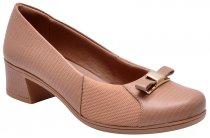 Imagem - Sapato Feminino Usaflex V8408/01 Nude - 015005500400162