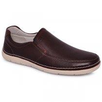 Sapato Masculino Democrata 175101-002 Mouro/Tabaco
