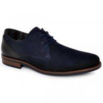 Sapato Masculino Pegada 124501-05 Azul Marinho/Preto