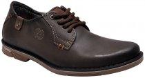 Sapato Masculino Pegada 23901-10 Cravo/Anilina