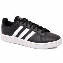 Imagem - Tênis Adidas Grand Court Base EE7482 Preto/Branco