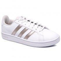 Imagem - Tênis Adidas Grand Court Base EE7874 Branco - 001059300620005
