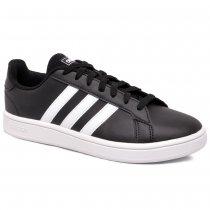 Imagem - Tênis Adidas Grand Court Base EE7900 Preto/Branco