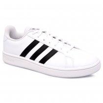 Imagem - Tênis Adidas Grand Court Base EE7904 Branco/Preto