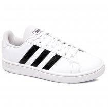 Imagem - Tênis Adidas Grand Court Base EE7968 Branco/Preto