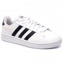 Imagem - Tênis Adidas Grand Court Feminino EX0203 Branco/Preto